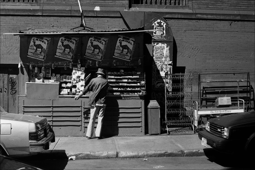 Photography: Newsstand, NYC 1988