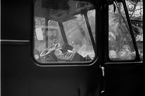 Photograph: Top Hat in Step Van, NYC circa 1988