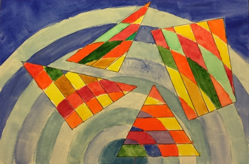 Watercolor: Abstract Patterns