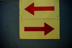 Photograph: Ambiguous Arrows