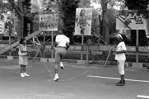 Photograph: Brooklyn Day 1990, Skipping Rope