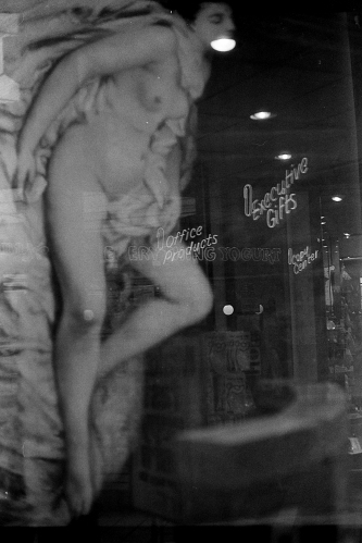 Photograph: Double Exposure - Nude and Neon