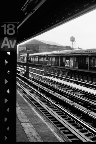 Photograph: Subway in Brooklyn