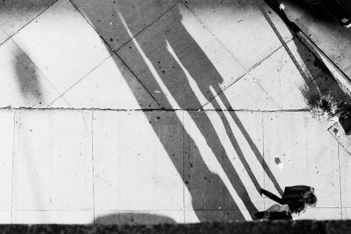 Photograph: Pedestrian Shadows