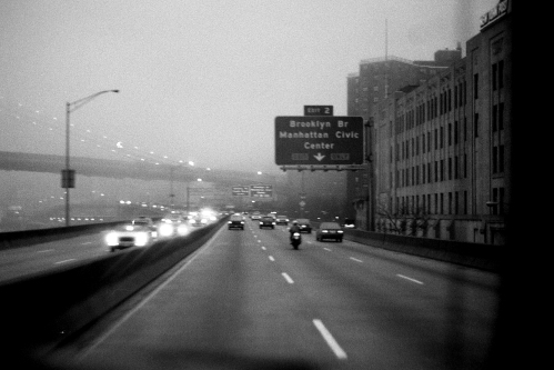 Photograph: Carpool Ride Home from Manhattan to Brooklyn