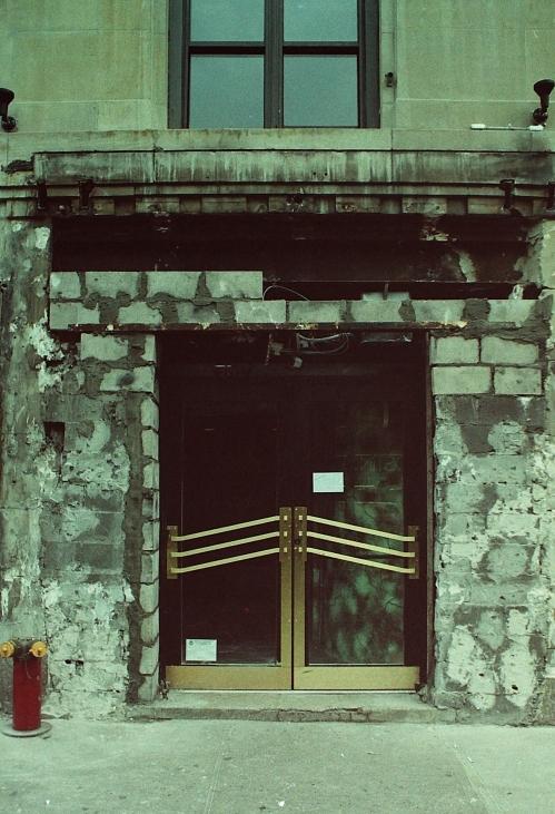 Photograph: Upper West Side Door Amidst Construction