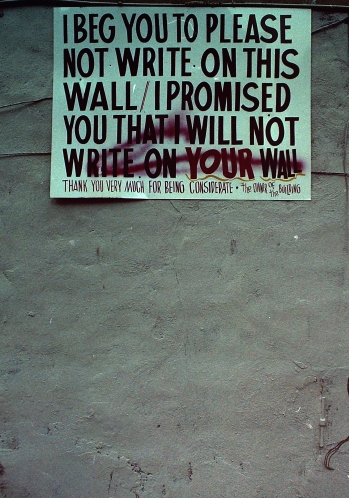 Photograph: Sign of a Promise