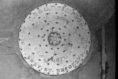 Photograph: Manhole Cover taken circa 1990
