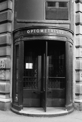 Photograph: Eye Doctor's Doorway, NYC