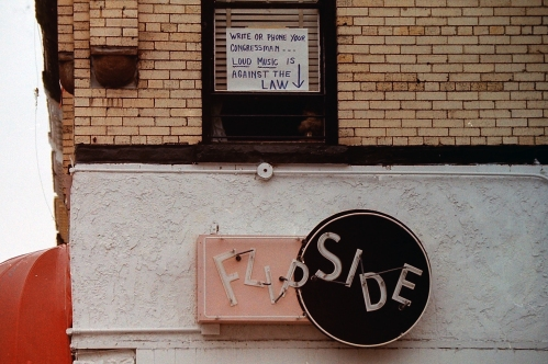 Photograph: Sign in Brooklyn circa 1990