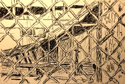 Pen and Ink: Coney Island Texture