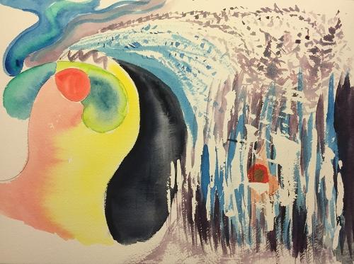 Watercolor: Abstract - Hummingbird to Songbird
