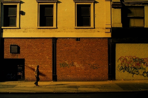 Photograph: Sunlit Building - Dusk or Dawn?
