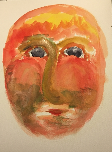 Watercolor: Portrait Grotesque