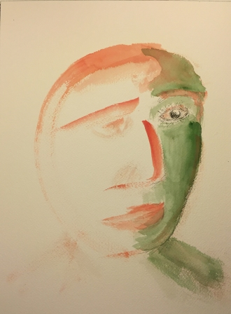 Watercolor: Portrait - Fading with Time