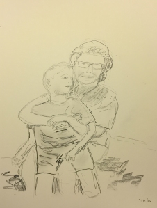 Sketch: Mike and Mom Sketch2