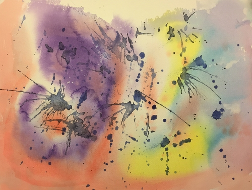 Watercolor: Abstract Background 101816