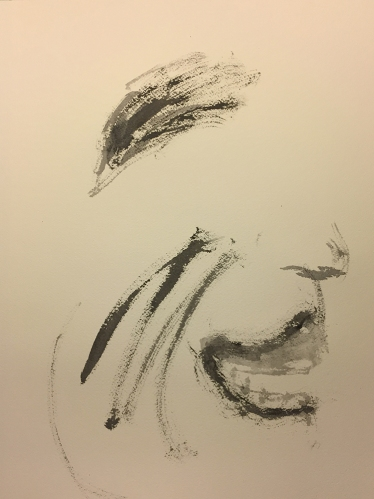 Watercolor: Portrait - Abstract Expression 2