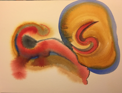 Watercolor: Abstract Forms