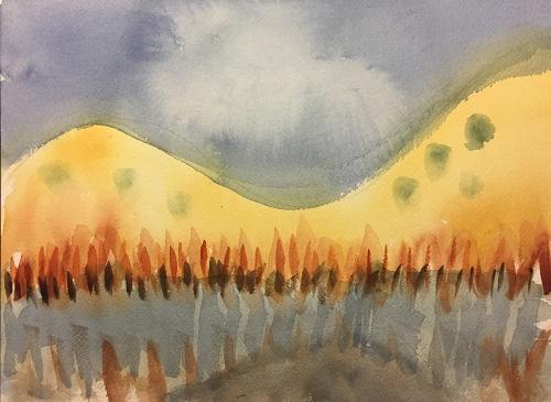 Watercolor: Abbreviated Landscape