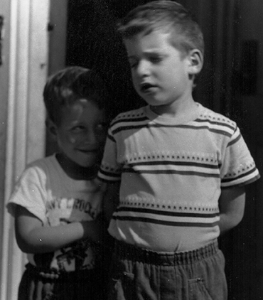Photograph: Mike and Jack, 1950s