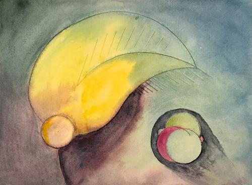Watercolor: Abstract - Foliage