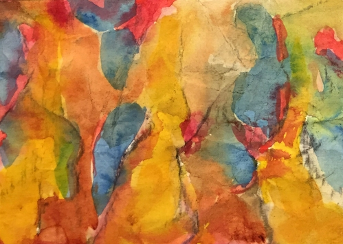 Watercolor: Abstract - SF Cumple
