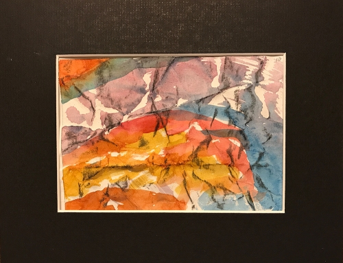 Watercolor: Abstract - Grid Position #10