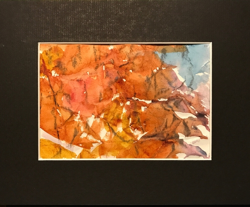 Watercolor: Abstract - Grid Position #11