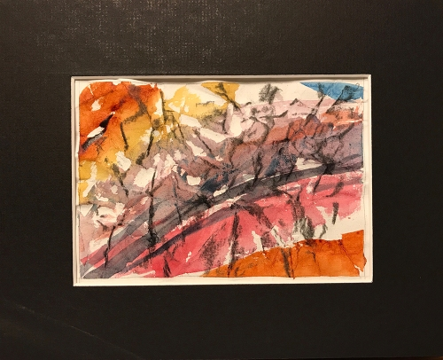 Watercolor: Abstract - Grid Position #2