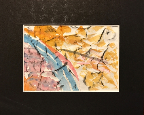 Watercolor: Abstract - Grid Position #3