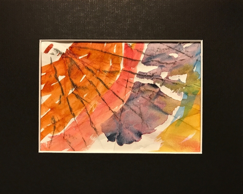 Watercolor: Abstract - Grid Position #7