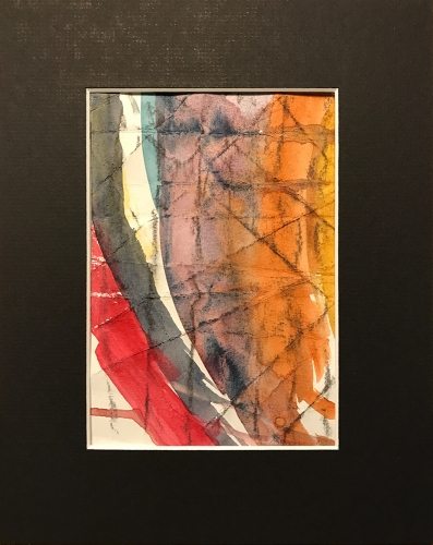 Watercolor: Abstract - Grid Position #8