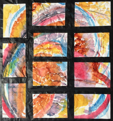 Watercolor: Abstract - Eleven Paintings