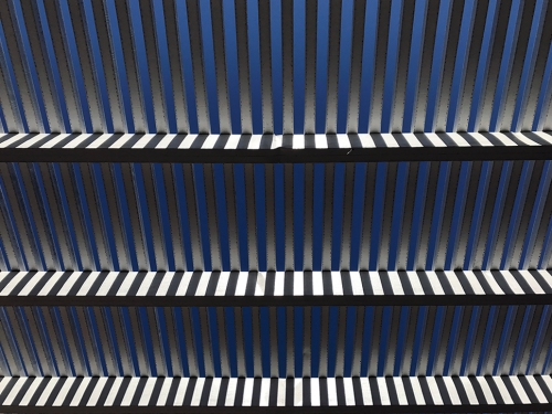 Photograph: Mid-day Sun, Awning Slats