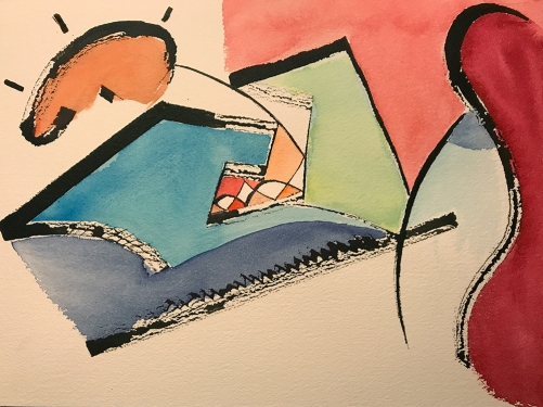 Watercolor: Abstract - Transcription Process