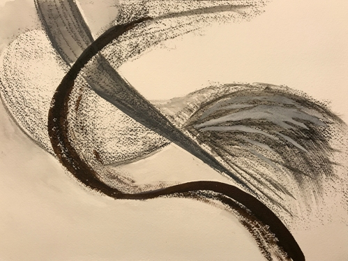 Charcoal and Ink: Abstract 050517