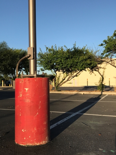 Photograph: Light Pole and Shadow