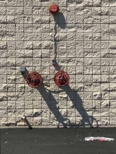 Photograph: Locked Standpipe and Alarm 062417