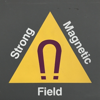 Photography: Sign - Strong Magnetic Field
