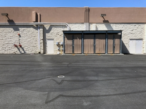Photograph: Storefront Back with Locked Standpipe, etc.