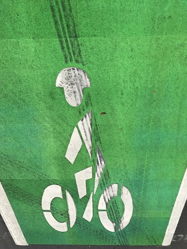 Photography: Sign - Roadside Bicycle Icon 070817