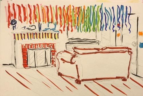Watercolor: Birthday Decorations 080417