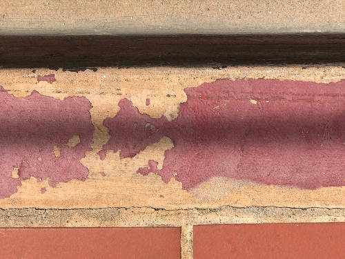 Photograph: Paint on Curb 080617