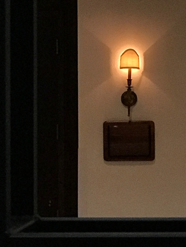 Photograph: Hotel Lighting 080317