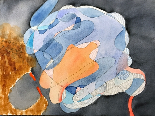 Watercolor: Abstract - Free Form 092617