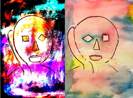 Watercolor: Abstract - Icon and Reverse - After Image 1 102217