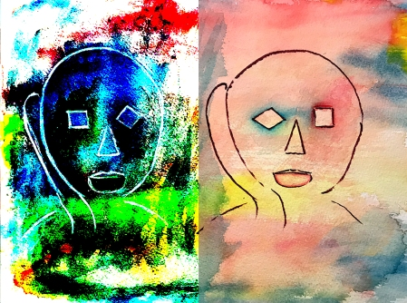 Watercolor: Abstract - Icon and Reverse - After Image 2 102217