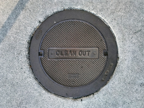 Photography: Clean Out Cover 101817