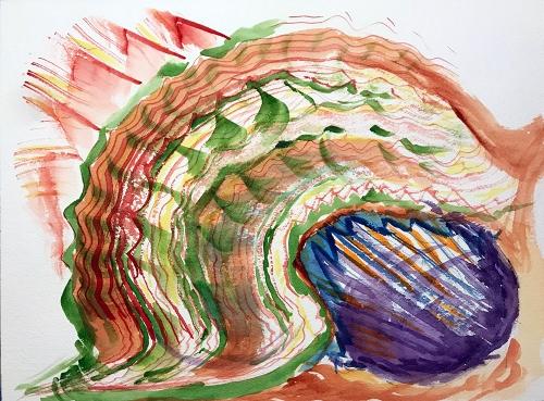 Watercolor: Abstract - Killer Snail 111017